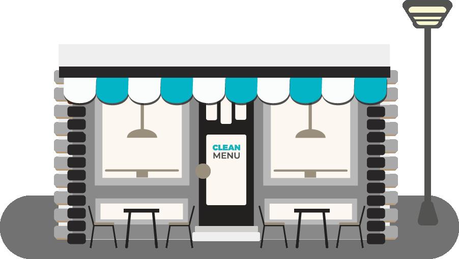 Vitrine de restaurant